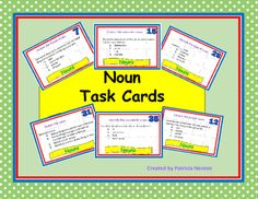 Digital fishbone diagram and hamburger paragraph diagram noun task cards elementary middle school home school ccuart Images