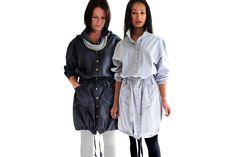 Long Parka Coat by WEISS design studio on hellopretty.co.za
