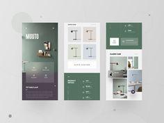 MUUTO-APP by Man King Design Agency, Ui Design, Interior Design, Graphic Design, Phone Mockup, New Mobile, Mobile Ui, Ui Inspiration, Portfolio Design