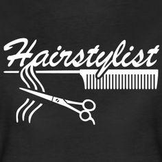 Hairstylist Kapper Styling `* Kam het haar schaar T-shirts - Vrouwen Premium T-shirt