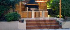 quincho escala roble  parrilla argentina  mesadas pergola Deck, Outdoor Decor, Home Decor, Oak Tree, Grilling, Argentina, Decks, Home Interior Design, Decoration Home