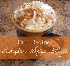 Pumpkin Spice Latte Recipe. I just made this. Yum!  This is the best homemade version I've tried.  It's delicious! Some previous recipes, including a crock pot version, were terrible.  I don't like overly sweet coffee though, so next time I will leave out the brown sugar.