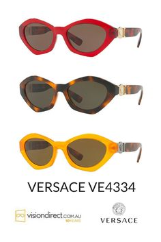 69cb4836175e Look at this super 90s Versace sunglasses  amazing 2017 collection  available on our website!