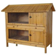 This rabbit hutch would be good for the males!