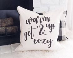 Farmhouse pillow cover - Holiday Gift ideas - Warm and Cozy Pillow - Christmas Tree Truck - Hottest Christmas Gifts
