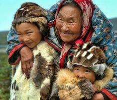Inuit people Russian side of Bering sea