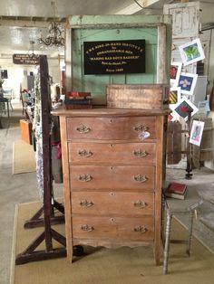 Primitive & Proper: A Washed Dresser and Some Randomness