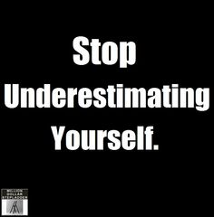 Surprising yourself is certain when you make the decision to Stop Underestimating Yourself. http://www.milliondollarstepladder.com/mdsforum/a-million-on-the-side/ #underdog #underestimated