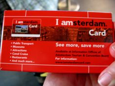 Due card per risparmiare ad Amsterda: I Amsterdam City Card e Amsterdam & Region Day Ticket