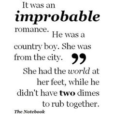 """I love this quote from """"The Notebook"""". My very own love story got published on mamamia.com.au.  (http://www.mamamia.com.au/parenting/being-a-young-mother/)   You can also find it on my blog happylifeofacitygirl.blogspot.com"""