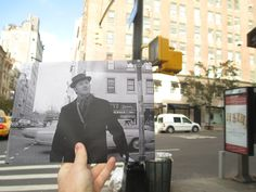 This is such a cool photo project: Movie Scenes of the Past in Real Life New York - Arts & Lifestyle - The Atlantic Cities