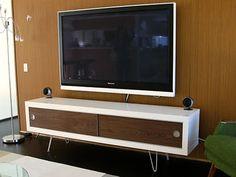Lack retro media cabinet - IKEA Hackers