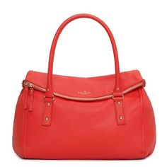 cobble hill leslie in gorgeous persimmon (Kate spade)