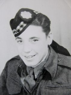 Charles McLean Royal Scots Fusiliers WWII