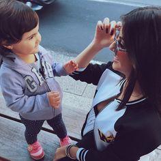 Domingo grudadinha com a pequena. ❤️
