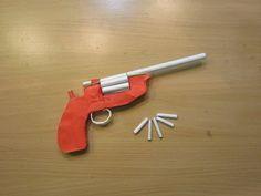 how to make a pocket pistol using popsicle sticks youtube kids pinterest pistolen. Black Bedroom Furniture Sets. Home Design Ideas