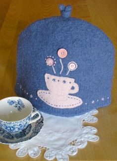 6-Cup Felted Tea Cozy