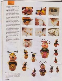 revistas de manualidades gratis Foam Crafts, Arts And Crafts, Paper Crafts, Cute Clay, Clay Creations, Bowser, Ladybug, Polymer Clay, Projects To Try