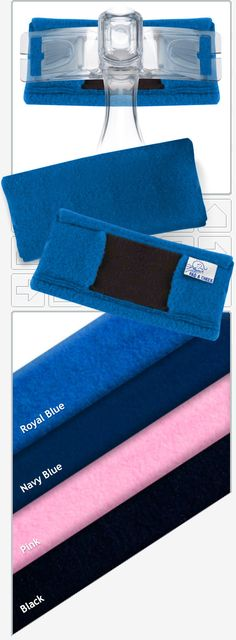 NEW! Pad A Cheek Fleece CPAP Mask Forehead Pads are soft and cuddly!