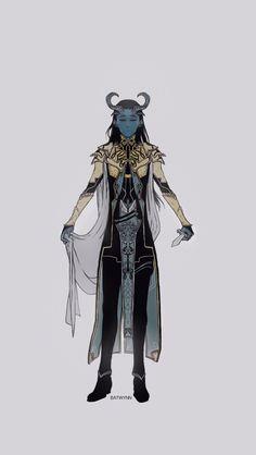 Batwynn: Jotun Loki drawn on a phone