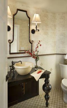 Gacek Design Group - Seashore Retreat in Avalon - Bathroom #gacekdesign #interior #design #oceanfront #beach #coastal #bathroom