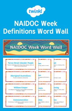 Naidoc Week Newspaper Article Plan Writing Template  Recount