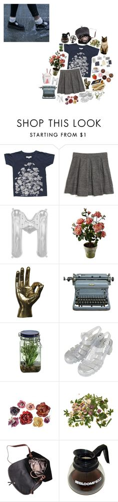 """being me can only mean being scared to breath"" by hurricaned ❤ liked on Polyvore featuring Madewell, Muse, Alöe, Topshop, Clips and melsunicorns"