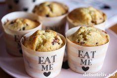 Muffins med appelsinsjokolade   Det søte liv