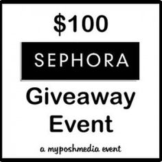 Enter to #Win $100 to Spend at Sephora! (ends 6/29)  #Sephora #giveaway #beauty