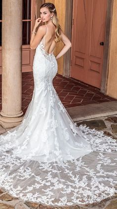 d300c17a722 The Spring 2018 Casablanca Bridal Collection is All Kinds of Gorgeous