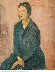 Woman with Hands Crossed, 1923-1924  Gwen John