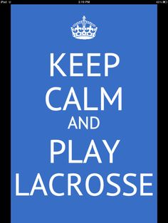 Lacrosse  I need a shirt for this one