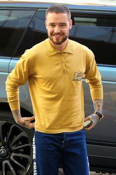 Liam  arriving at the BBCR1 studios in London - 18/4