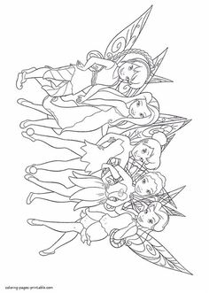 Disney Coloring Pages Printables, Tinkerbell Coloring Pages, Skull Coloring Pages, Horse Coloring Pages, Fairy Coloring Pages, Coloring Book Art, Cartoon Coloring Pages, Coloring Pages For Kids, Sleeping Beauty Coloring Pages