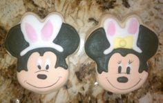Yum! Delicious Mini Mouse cookies. Buy the cookie cutter for $6.95!