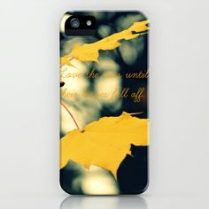Love the Trees Until... iPhone & iPod Case by RDelean - $35.00