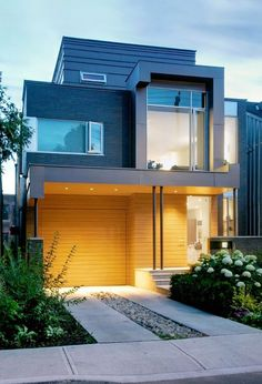 Welcome to Ideas of Robert Street House article. In this post, you'll enjoy a picture of Robert Street House design . Architecture Durable, Residential Architecture, Contemporary Architecture, Interior Architecture, Contemporary Homes, Building Architecture, Architecture Student, Building Design, Modern Exterior