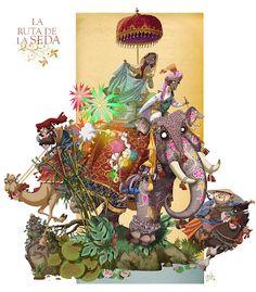 Design from the valencian illustrator Ramón Pla