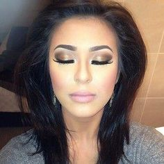 eye makeup for brown eyes and black hair - Google Search