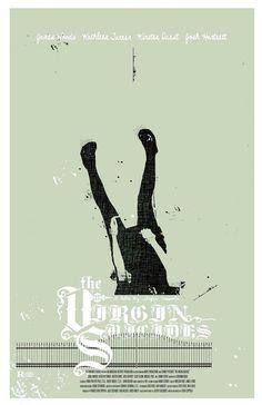 The Virgin Suicides 11x17 inch poster by TheArtOfAdamJuresko, $22.00