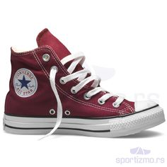Converse All Star Chuck Taylor Hi Top Maroon Maroon Converse High Tops, High Top Chucks, Converse All Star, High Top Sneakers, Converse Burgundy, Sock Shoes, Cute Shoes, Me Too Shoes, Outfits With Converse