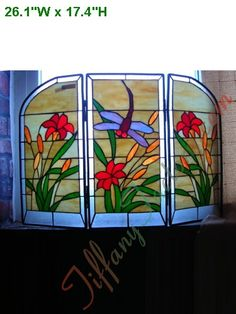 leaded glass fireplace screens. Tiffany Fireplace Screen stained glass fireplace screen patterns  Google Search Stained