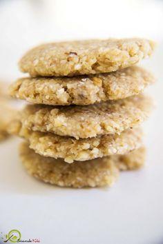 Ωμα Μπισκοτα με Καρυδια και Μελι Krispie Treats, Rice Krispies, Sweet Corner, Healthy Cooking, Cookies, Desserts, Recipes, Food, Crack Crackers