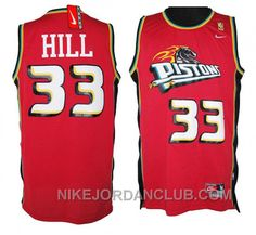 http://www.nikejordanclub.com/grant-hill-detroit-pistons-33-soul-swingman-red-jersey-for-sale.html GRANT HILL DETROIT PISTONS #33 SOUL SWINGMAN RED JERSEY FOR SALE Only $89.00 , Free Shipping!