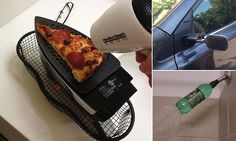 Broke students post pictures of the strange ways they save money