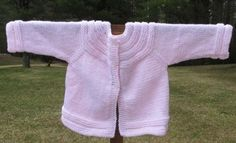 Kingston Alpaca Knits Pink Baby Sweater 3 to 6 months 1 available