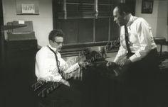 James Dean & Edward Platt