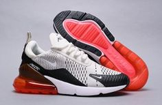 Nike Air Max 270 Black Hot Punch White Light Bone AH8050 003 Women s da8fabc68