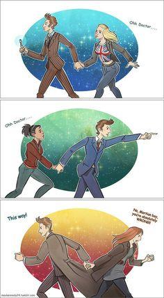 Doctor Who - Girls | by maXKennedy deviantart