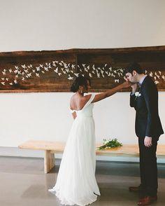 Perfectly romantic interracial couple wedding photography #love #wmbw #bwwm #swirl
